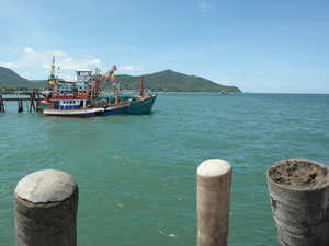 Bang Saray Fishing Boat