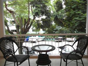 Balcon privée Pour votre Café ou Thé