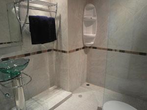 Condo Designer Bathroom