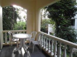 Умиротворяющий вид с балкона