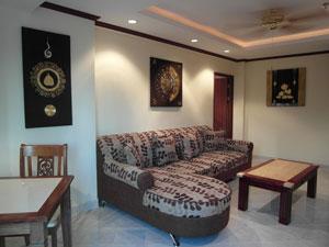 Canapé Large et Comfortable