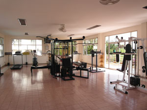 Jomtien Beach Condominium Gym