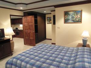 Condominium Bedroom