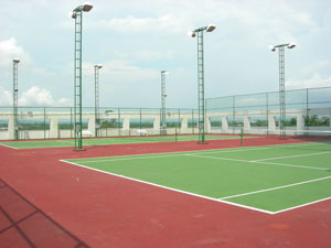 Metro Roof Top Tennis Court
