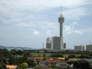 Вид на отель Pattaya Park