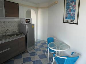 Ce condo d'une chambre à Angket Condotel à Jomtien Pattaya est situé au 15ème étage.