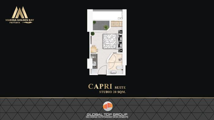 CAPRI - 20 sq/m Studio