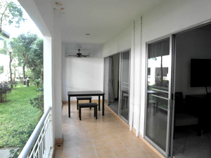 Baan Suan Lalana Balcony