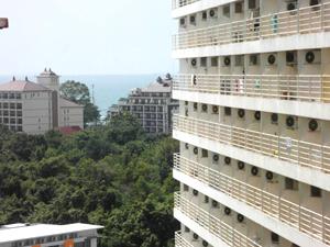 Вид на море с балкона квартиры