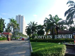 l'Entrée de Jomtien Beach