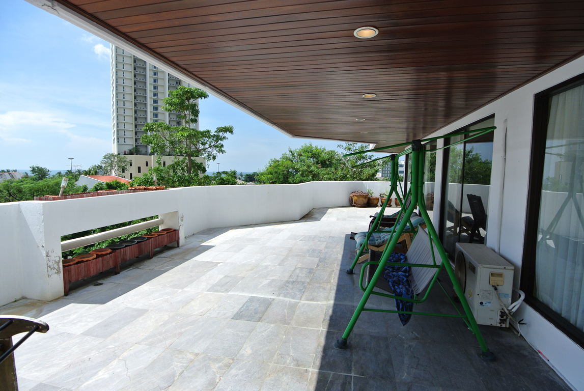Nice Large Balcony With View