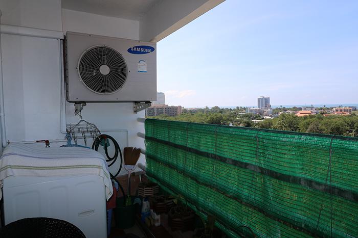 Balkon / Waschmaschine