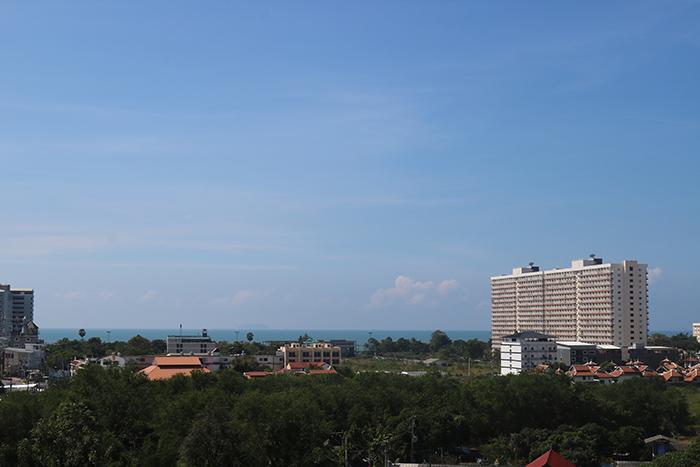 Blick aus das Meer