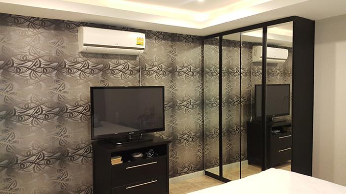 Bedroom Flat Screen LCD TV