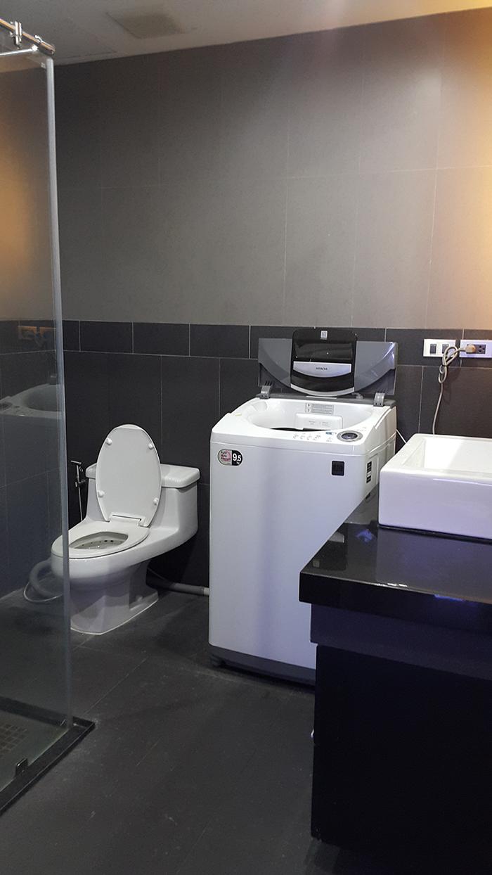 Bathroom Washing Machine