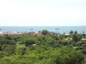 安格特海景。