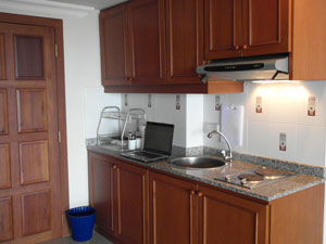 Condo European Kitchen