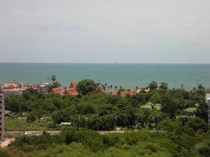 Вид на море с 15 этажа
