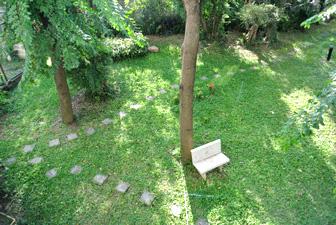 Vue Sur le Jardin à Baan Suan Lalana