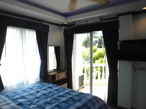 班苏安拉拉纳公寓卧室