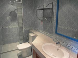 现代设计的浴室