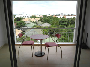 Baan Suan Lalana Балкон