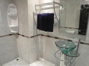 由设计师专门设计的浴室