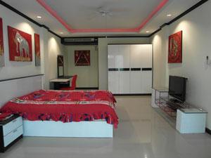 Ein Bett-Zimmer Wohnung