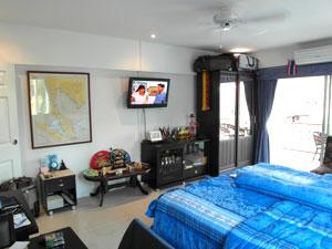 Grand Lit Avec Télé LCD
