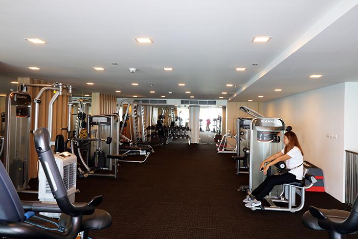 大而质量好的健身房