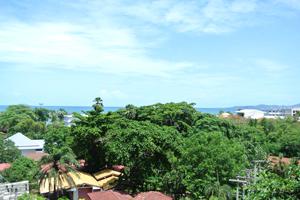 Вид на море с 6 этажа