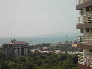 Jomtien Condo Balcony View