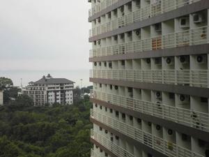 Вид на море с балкона 11 этажа