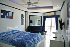 Bedroom With Flatscreen LCD