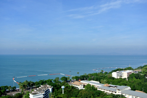 Вид с балконов