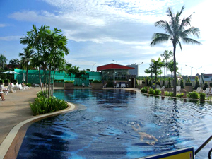 Piscine au Jomtien Beach Immeubles S