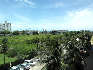 Вид с балкона квартиры