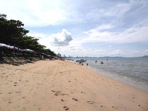 Jomtien Strand in der Nähe
