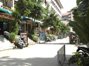 Jomtien Plaza Straße