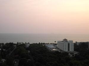 Condo View From Balcony