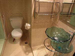 Studio Condo Bathroom