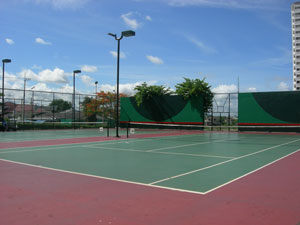 Keha Condominium Tennis Court