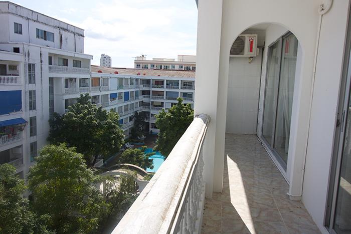 Grosser Balkon