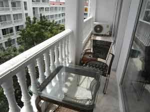 Majestic Condo Balcony