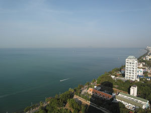 Vue de la Mer Venant de Metro Jomtien