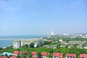 Вид на море с 10 этажа