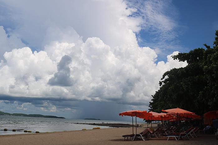 Sandy Beach Near Condominium