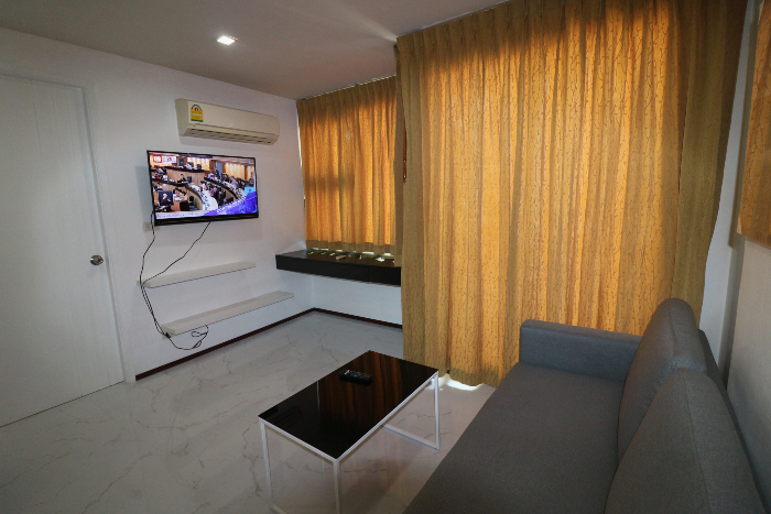 LCD TV in Living Room