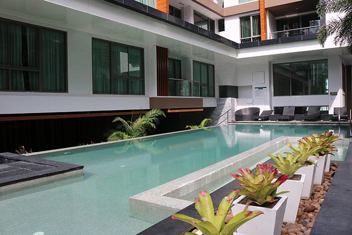 Urban Condominium Pool