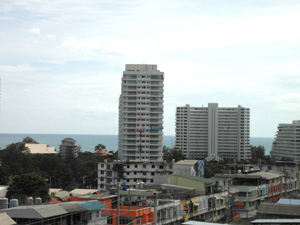 Vue Sur La Mer Et La Ville